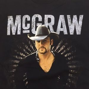 Mc Graw tour 2008 t-shirt size L